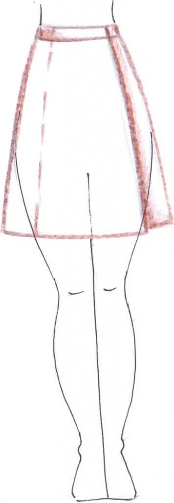 юбки для беременных выкройки бесплатно